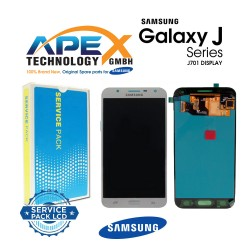 Samsung Galaxy J7 Nxt (SM-J701F) Display module LCD / Screen + Touch Silver GH97-20904C