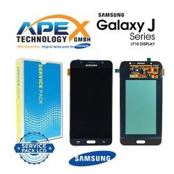 Samsung SM-J710 Galaxy J7 (2016) LCD Display / Screen + Touch - Black