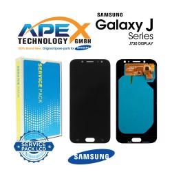 Samsung Galaxy J7 2017 (SM-J730F) Display module LCD / Screen + Touch Black GH97-20736A