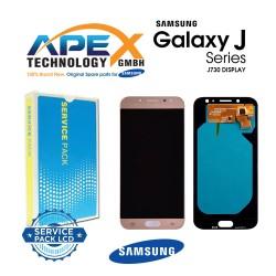 Samsung Galaxy J7 2017 (SM-J730F) Display module LCD / Screen + Touch Gold GH97-20736C