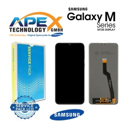 Samsung Galaxy M10 (SM-M105F) Display module LCD / Screen + Touch Black GH82-18685A