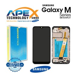 Samsung Galaxy M01 (SM-M015F) Display module LCD / Screen + Touch Black GH81-19017A