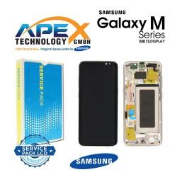 Samsung Galaxy M10s (SM-M107F) Display unit complete black GH82-21250A