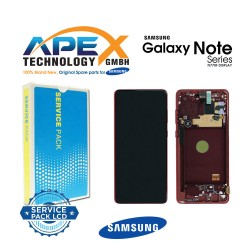 Samsung SM-N770 Galaxy Note 10 Lite Display module LCD / Screen + Touch - Red - GH82-22055C OR GH82-22193C OR GH82-22194C