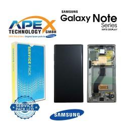 Samsung SM-N970 Galaxy Note 10 LCD Display / Screen + Touch - Aura Glow / Silver - GH82-20818C