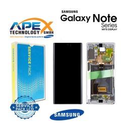 Samsung SM-N975 Galaxy Note 10+ / Note 10 Plus Display module LCD / Screen + Touch - Aura Glow / Silver - GH82-20838C OR GH82-20900C