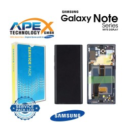 Samsung SM-N975 Galaxy Note 10+ / Note 10 Plus Display module LCD / Screen + Touch - Red / Black (Star Wars) - GH82-21620A