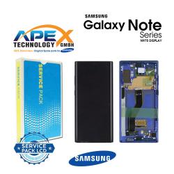Samsung SM-N975 Galaxy Note 10+ / Note 10 Plus Display module LCD / Screen + Touch - Aura Blue - GH82-20838D OR GH82-20900D