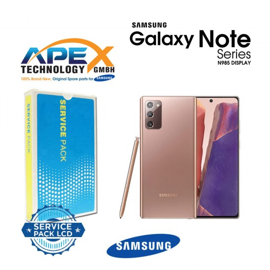 Samsung SM-N986 Galaxy Note 20 Ultra LCD Display / Screen + Touch  Aura Blue