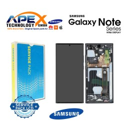 Samsung Galaxy Note 20 Ultra 5G (SM-N986F) Display module LCD / Screen + Touch Mystic Black GH82-23596A
