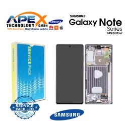 Samsung Galaxy Note 20 (SM-N980F SM-N981F) Display module LCD / Screen + Touch Mystic Grey GH82-23495A