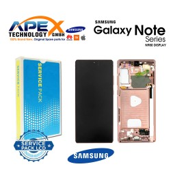 Samsung Galaxy Note 20 (SM-N980F SM-N981F) Display module LCD / Screen + Touch Mystic Bronze GH82-23495B