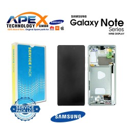 Samsung Galaxy Note 20 (SM-N980F SM-N981F) Display module LCD / Screen + Touch Mystic Green GH82-23495C
