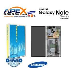 Samsung Galaxy Note 20 Ultra 5G (SM-N986F) Display module LCD / Screen + Touch White GH82-23596C