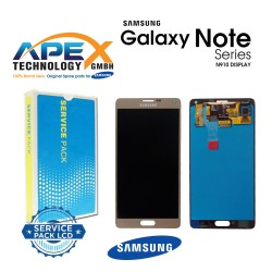 Samsung SM-N910 Galaxy Note 4 LCD Display / Screen + Touch - Gold
