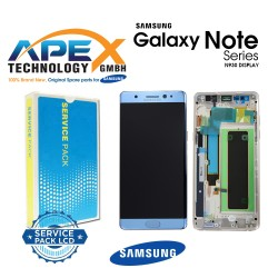 Samsung SM-N930F Galaxy Note 7 LCD Display / Screen + Touch - Blue