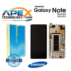 Samsung Galaxy Note 8 (SM-N950F) Display module LCD / Screen + Touch Gold GH97-21065D