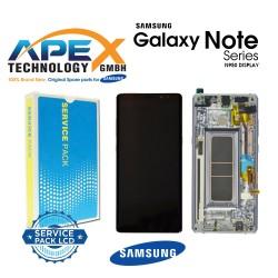 Samsung Galaxy Note 8 (SM-N950F) Display unit complete violet GH97-21065C