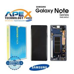 Samsung Galaxy Note 9 (SM-N960F) Display module LCD / Screen + Touch Ocean Blue GH97-22269B