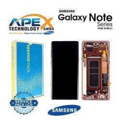 Samsung Galaxy Note 9 (SM-N960F) Display module LCD / Screen + Touch metallic copper GH97-22269D