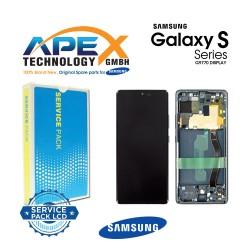 Samsung Galaxy S10 Lite (SM-G770F) Display module LCD / Screen + Touch Prism Black GH82-21672A