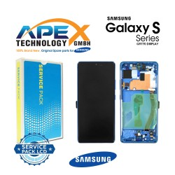Samsung Galaxy S10 Lite (SM-G770F) Display module LCD / Screen + Touch Prism Blue GH82-21672C