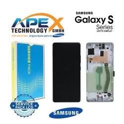 Samsung Galaxy S10 Lite (SM-G770F) Display module LCD / Screen + Touch Prism White GH82-21672B