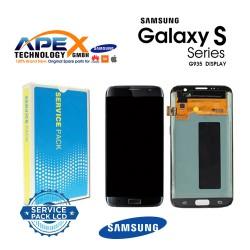 Samsung Galaxy S7 Edge (SM-G935F 2016 (No Frame) Display module LCD / Screen + Touch Black GH96-09784A