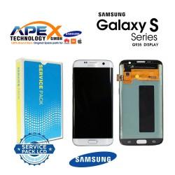 Samsung Galaxy S7 Edge (SM-G935F 2016 (No Frame) Display module LCD / Screen + Touch White GH96-09787A