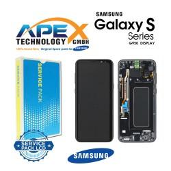 Samsung Galaxy S8 (SM-G950F) Display module LCD / Screen + Touch Black GH97-20457A OR GH97-20458A OR GH97-20473A OR GH97-20629A