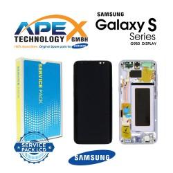 Samsung Galaxy S8 (SM-G950F) Display module LCD / Screen + Touch Violet GH97-20457C OR GH97-20458C OR GH97-20473C OR GH97-20629C