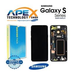 Samsung Galaxy S9 Plus (SM-G965F) Display module LCD / Screen + Touch Midnight Black GH97-21691A