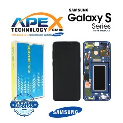 Samsung Galaxy S9 Plus (SM-G965F) Display module LCD / Screen + Touch Coral Blue GH97-21691D