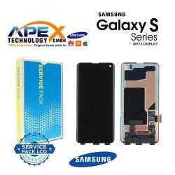 Samsung Galaxy S10 ( SM-G973  2019 ) Display module LCD / Screen + Touch - No Frame GH96-12255A