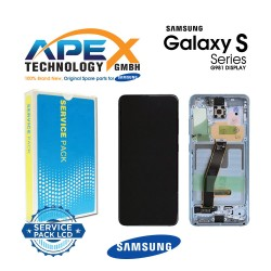 Samsung SM-G980 Galaxy S20 Display module LCD / Screen + Touch - Blue - GH82-22131D OR GH82-22123D