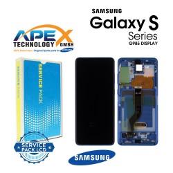 Samsung Galaxy S20 Plus (SM-G985F) Display unit complete aura blue GH82-22145H