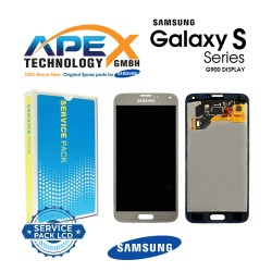 Samsung SM-G900F Galaxy S5 LCD Display / Screen + Touch - Gold