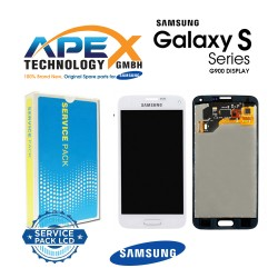 Samsung SM-G900F Galaxy S5 LCD Display / Screen + Touch - White