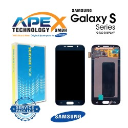 Samsung Galaxy S6 (SM-G920F) Display module LCD / Screen + Touch Black GH97-17260A