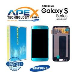Samsung Galaxy S6 (SM-G920F) Display module LCD / Screen + Touch Blue GH97-17260D