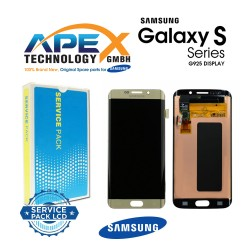 Samsung SM-G925 Galaxy S6 Edge LCD Display / Screen + Touch - Gold