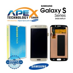 Samsung Galaxy S6 Edge+ (SM-G928F) Display module LCD / Screen + Touch Silver GH97-17819D