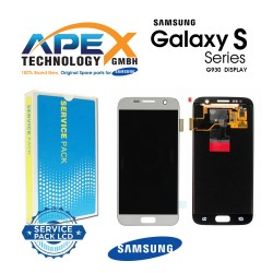 Samsung SM-G930F Galaxy S7 LCD Display / Screen + Touch - Silver