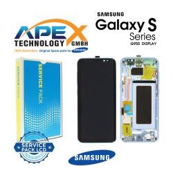 Samsung Galaxy S8 (SM-G950F) Display module LCD / Screen + Touch Blue GH97-20457D OR GH97-20458D OR GH97-20473D OR GH97-20629D
