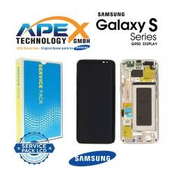 Samsung Galaxy S8 (SM-G950F) Display module LCD / Screen + Touch Gold GH97-20457F OR GH97-20458F OR GH97-20473F OR GH97-20629F