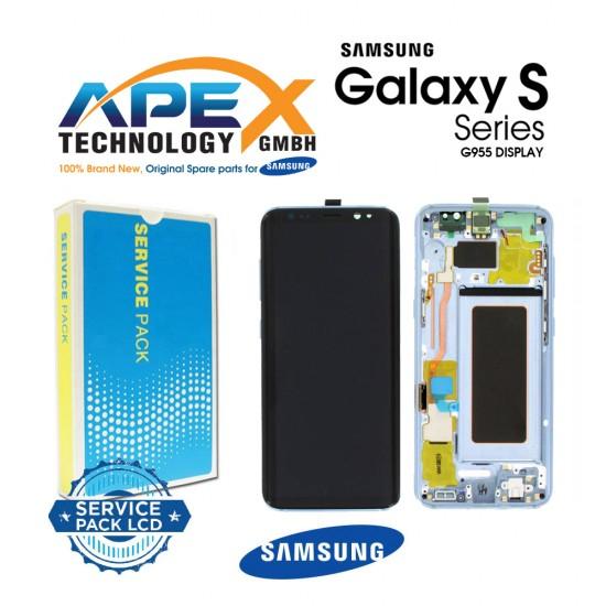 Samsung Galaxy S8 Plus (SM-G955F) Display module LCD / Screen + Touch Blue GH97-20470D