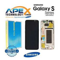Samsung SM-G955 Galaxy S8+ LCD Display / Screen + Touch - Gold