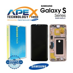Samsung Galaxy S9 Plus (SM-G965F) Display module LCD / Screen + Touch Sunrise Gold GH97-21691E