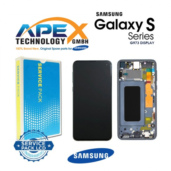 Samsung SM-G973 Galaxy S10 LCD Display / Screen + Touch - Prism Silver