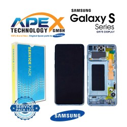 Samsung SM-G975 Galaxy S10+ / S10 Plus LCD Display / Screen + Touch - Prism Blue